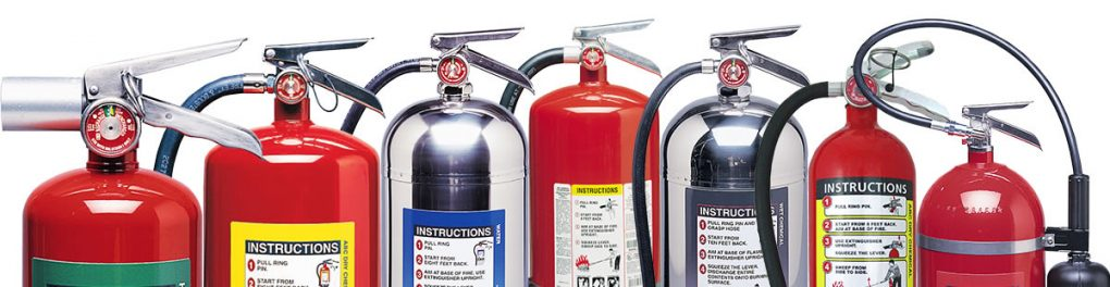 types of rv fire extinguishers