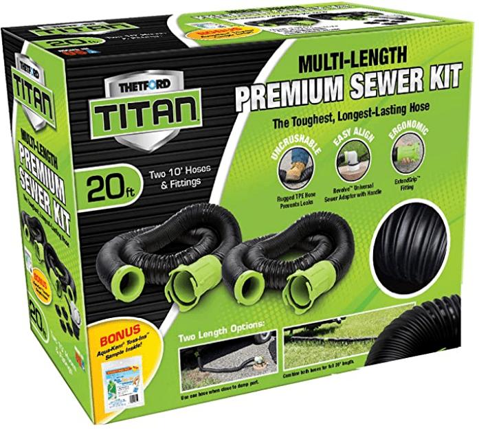 thetford titan rv sewer hose