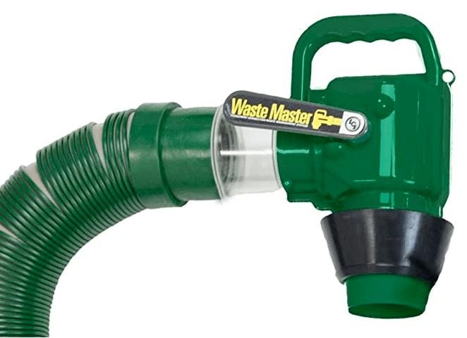 waste master sewer hose valve
