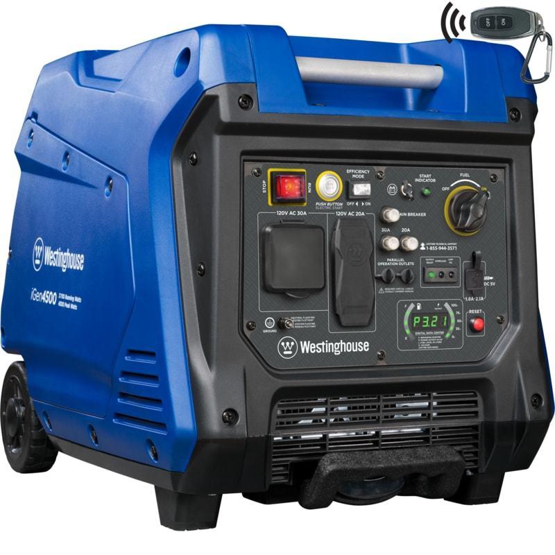 westinghouse igen4500 rv generator
