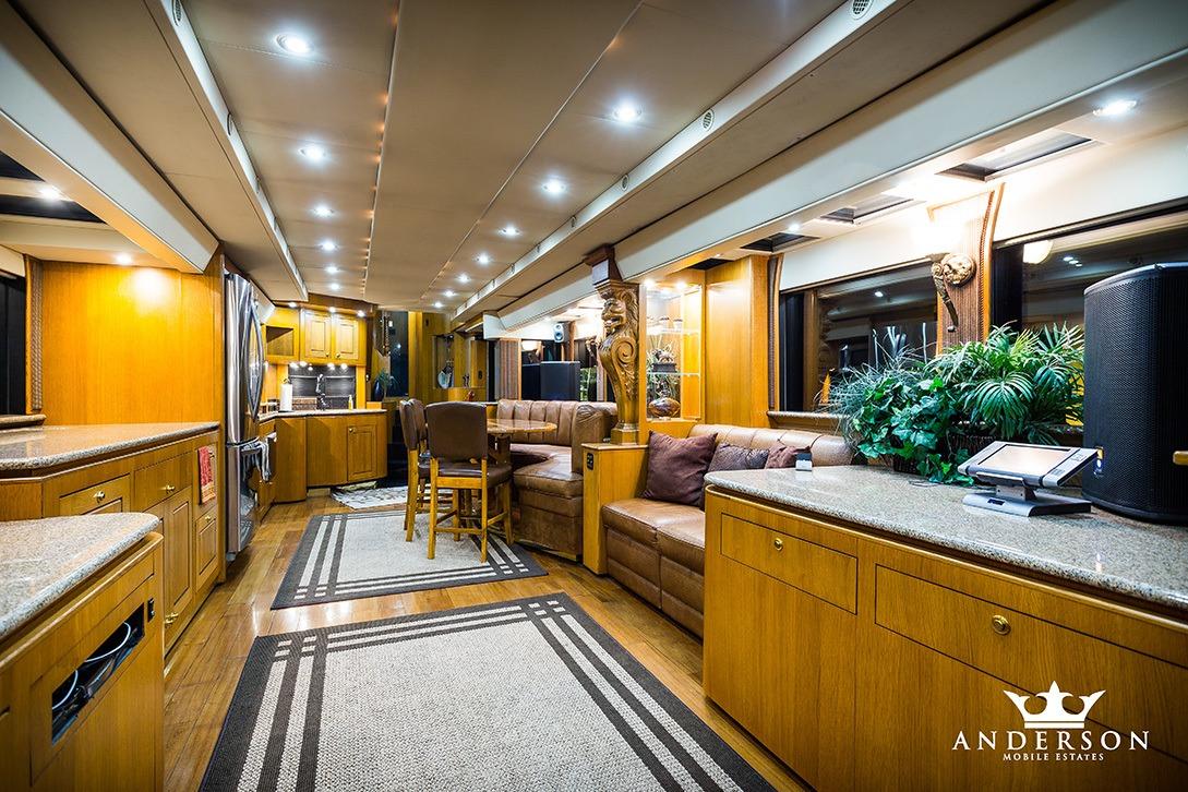 full living area Anderson Mobile Estates