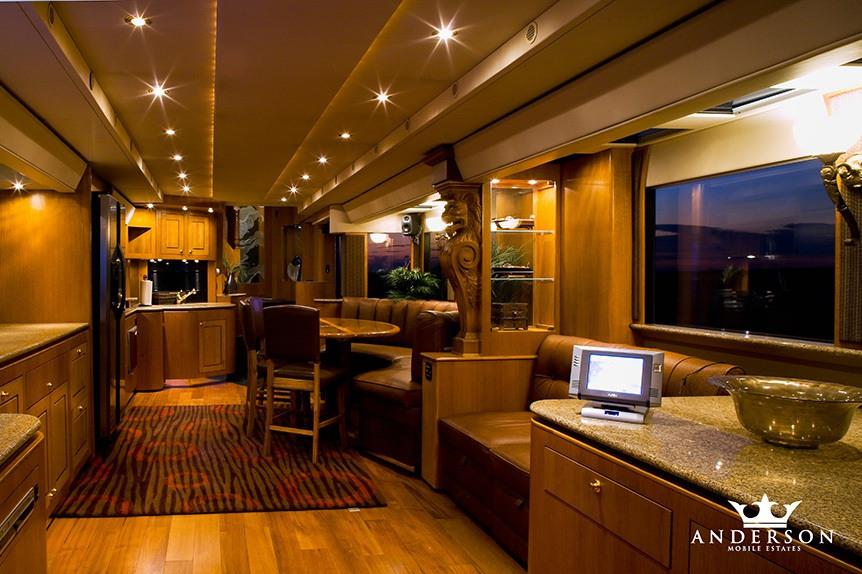 Anderson Mobile Estates living room